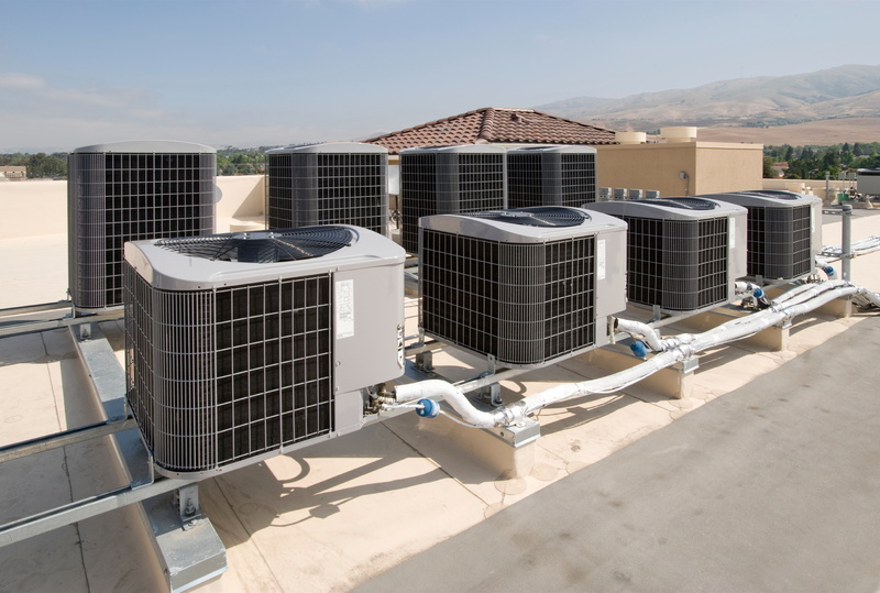 Rooftop Units Duct : When to schedule professional commercial hvac repairs db